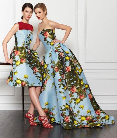 Lucy Liu w bajecznej sukni od Caroliny Herrery