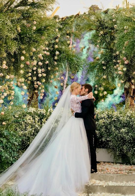 Znamy koszty ślubu i wesele Chiary Ferragni!
