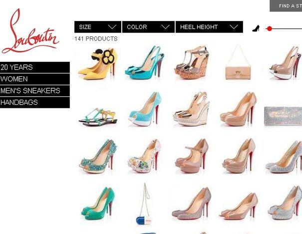 Louboutin otworzył europejski butik online
