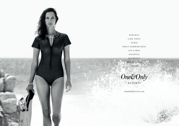 Christy Turlington w kampanii One&Only
