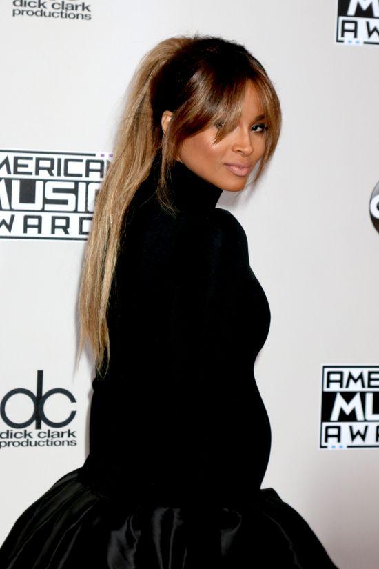 Wow! Ciara TAK wyeksponowała ciążowy brzuszek w...