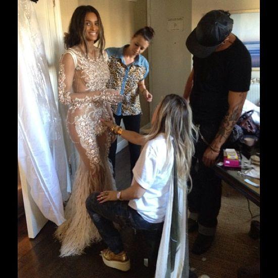 Jak Ciara szykowała się na MTV VMA 2013?