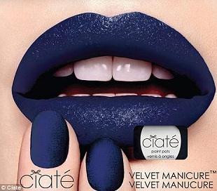 Ciaté Velvet Manicure - paznokcie z aksamitu