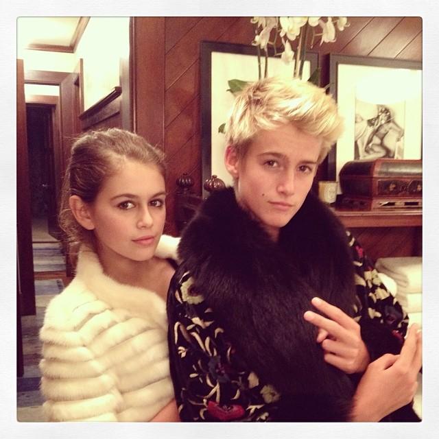 Zgadniecie, dzieci której sławnej modelki idą w jej ślady?