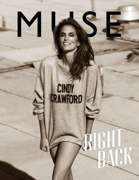 Cindy Crawford na okładce magazynu Muse