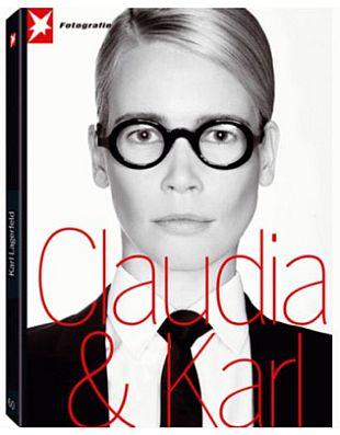Karl Lagerfeld fotografuje Claudię Schiffer