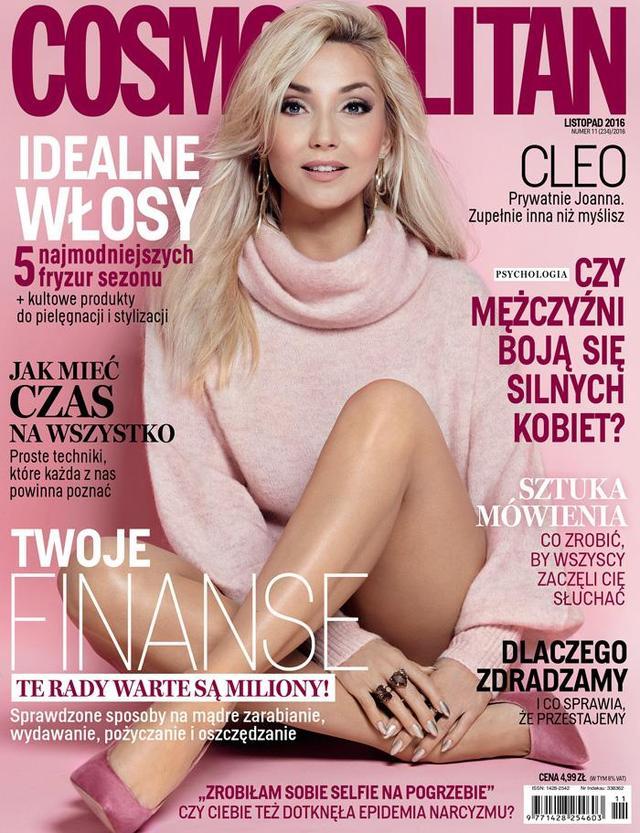 Odmieniona Cleo w Cosmopolitan (FOTO)
