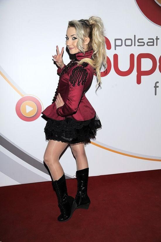 Koszmarna Cleo na Polsat SuperHit Festiwal 2015 (FOTO)