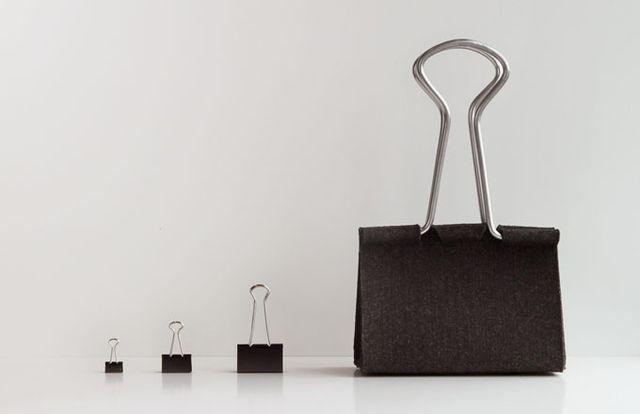 Co powiecie o torbie w kształcie klipsa biurowego? (FOTO)