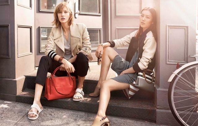 Karlie Kloss i Liu Wen w wiosennej kampanii Coach (FOTO)