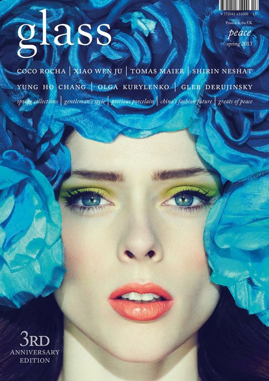 Coco Rocha dla GLASS Magazine