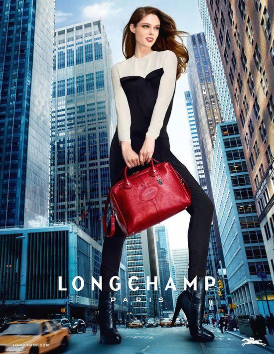 Coco Rocha w kampanii Longchamp (FOTO)