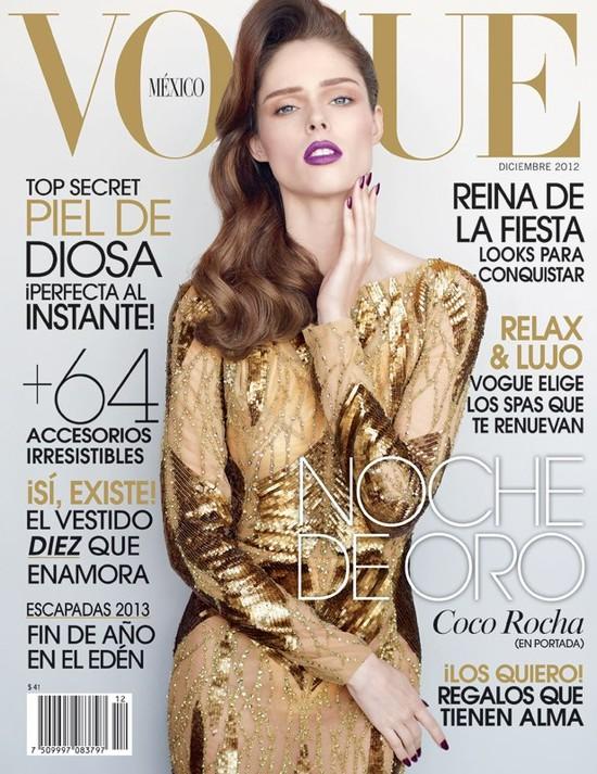 Coco Rocha w Vogue Mexico