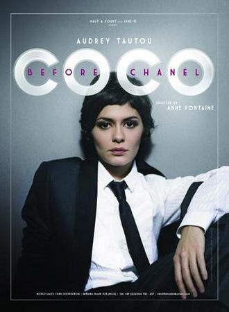 Audrey Tautou jako Coco Chanel