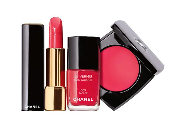 Wiosenny makijaż według Chanel