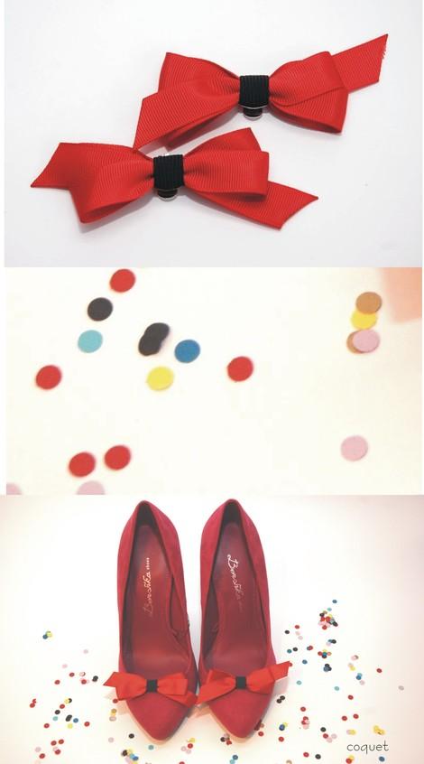 Fantastyczne spinki do butów Coquet