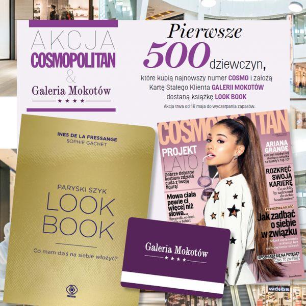 Kup nowe Cosmo i odbierz książkę LOOK BOOK