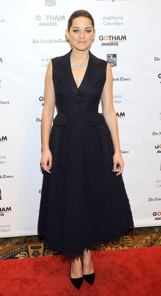 Marion Cotillard w sukni Christiana Diora