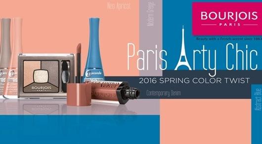 Paris Arty Chic - makijaż na wiosnę 2016 od Boujois