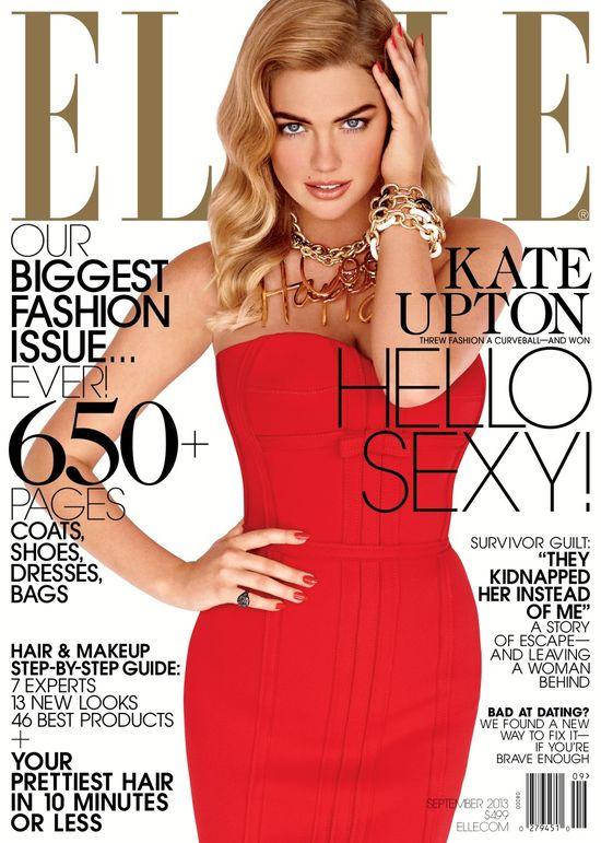 Kate Upton została Modelką Roku 2013 (FOTO)