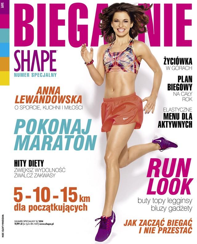 Anna Lewandowska w numerze specjalnym SHAPE - Bieganie