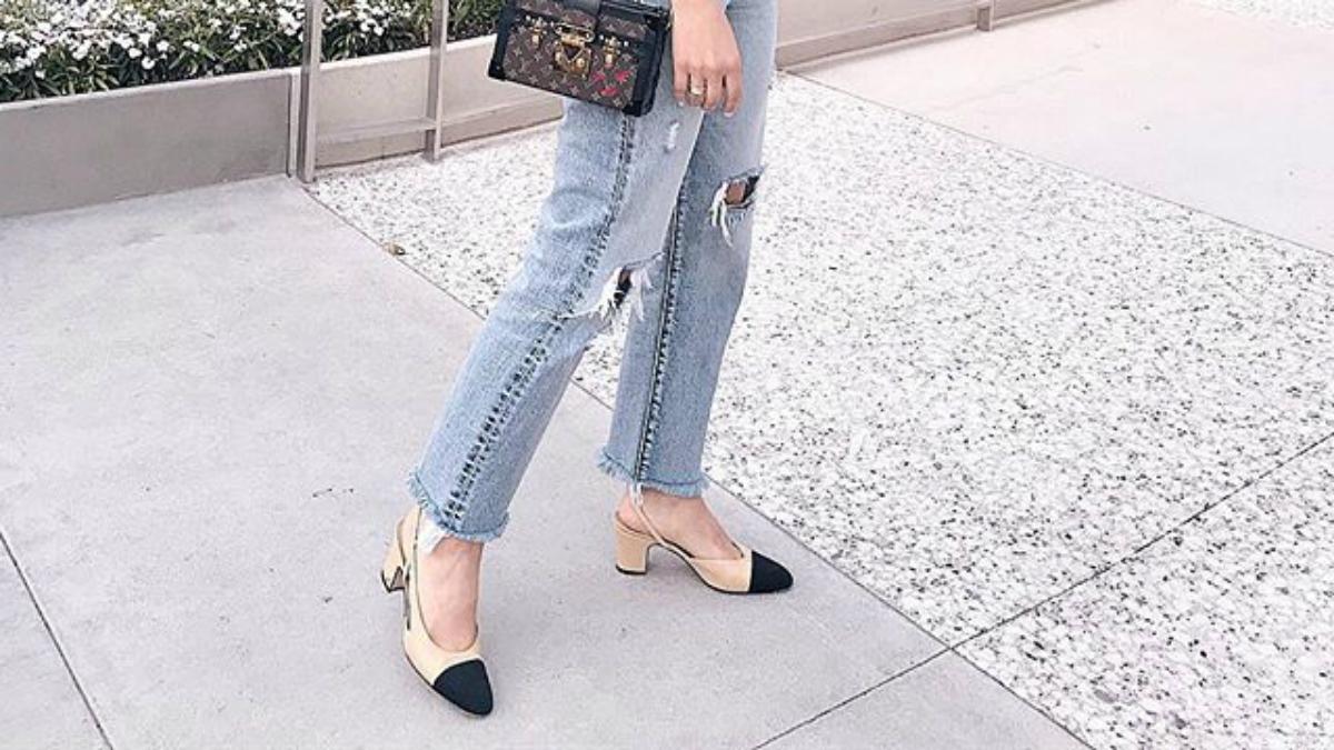 22c638d85b617 Czy buty za 200 złotych z M&S udają model od Chanel? - Zeberka.pl
