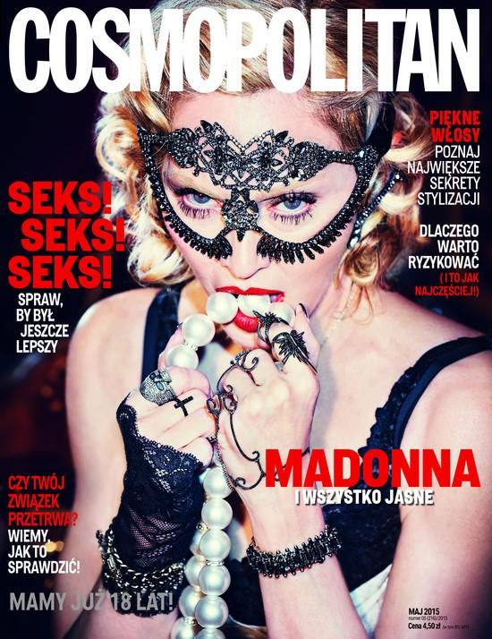 Madonna x 3 na 18. urodziny polskiego Cosmo (FOTO)