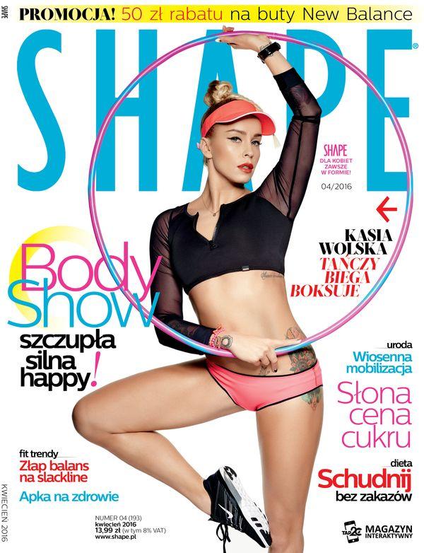 Kwietniowy numer magazynu Shape już w sprzedaży z treningiem DVD!