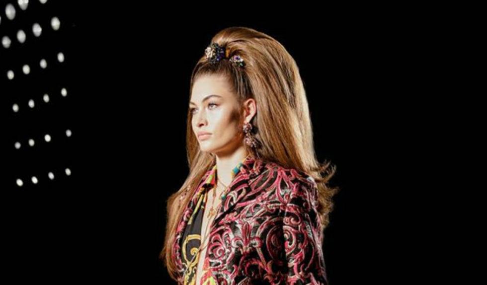 Włosy Na Pokazie Versace To Prawdziwe Dzieła Sztuki Wyjdą