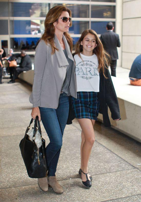 Córka Cindy Cawford, Kaia Geber, jest coraz piękniejsza