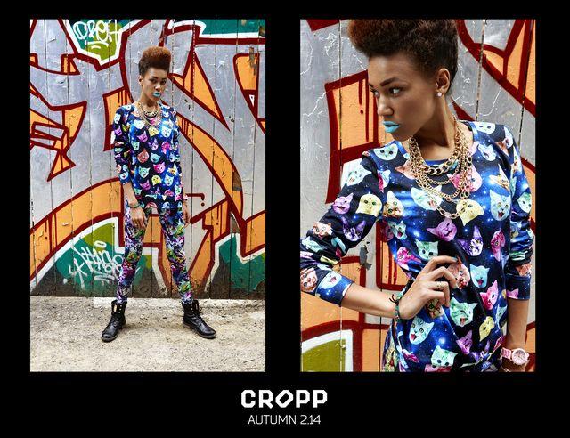 Kolorowo-kontrastowo w jesiennym lookbooku Cropp (FOTO)