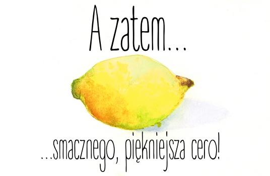Cytryna na skórę - co może ten magiczny owoc?