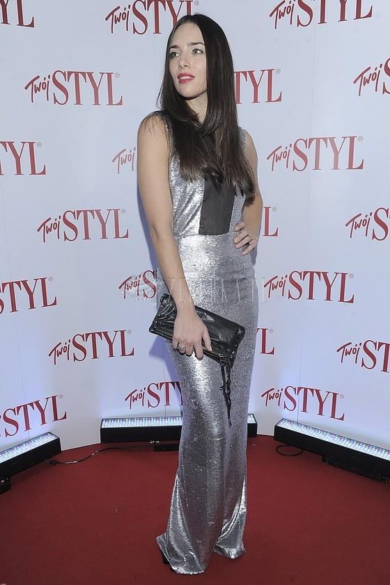 Anna Czartoryska w srebrnej sukni