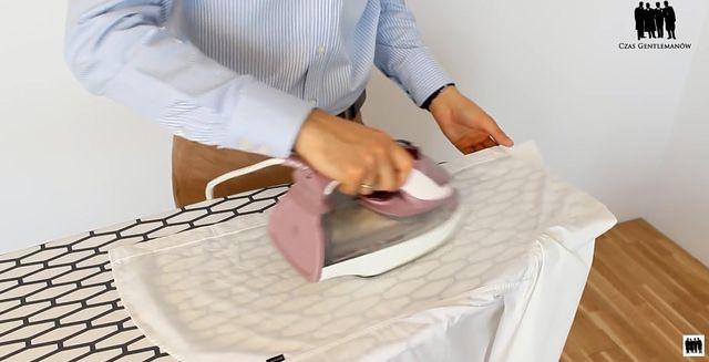 Jak wyprasować koszulę (VIDEO)