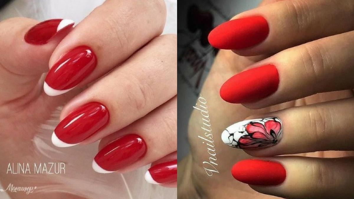 Czerwone Paznokcie Na Walentynki 20 Inspiracji I Wzorów Zeberkapl