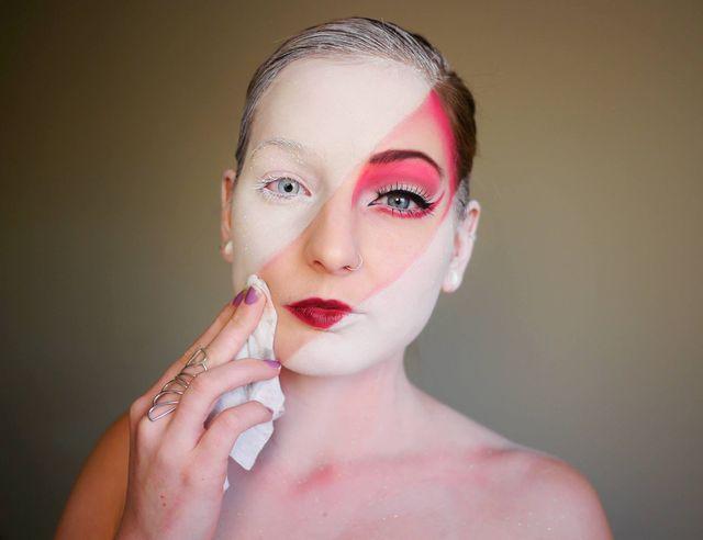To Nie Renifer To Makijaż Foto Zeberkapl