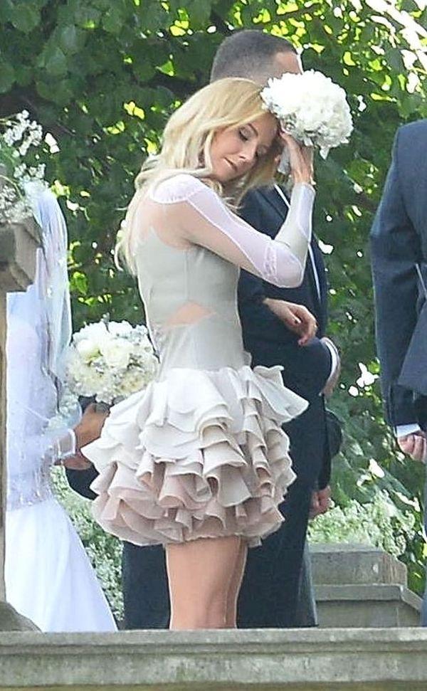 Sukienka Uli Radwańskiej ze ślubu Agnieszki zrobiła wielką furorę!