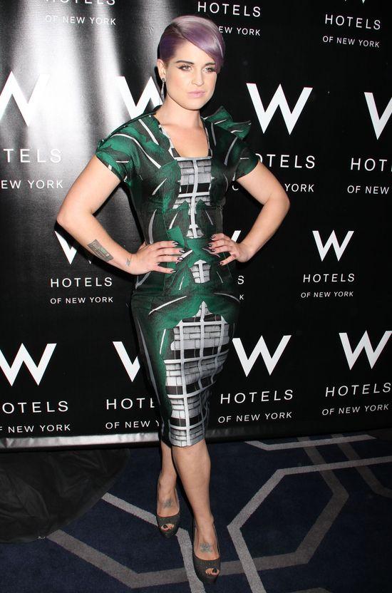 Metamorfozy Kelly Osbourne - gwiazda w roku 2012
