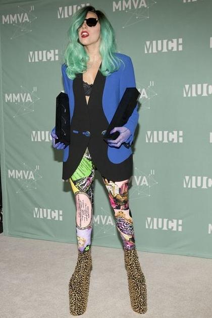 Fantastyczne stylizacje Lady Gagi
