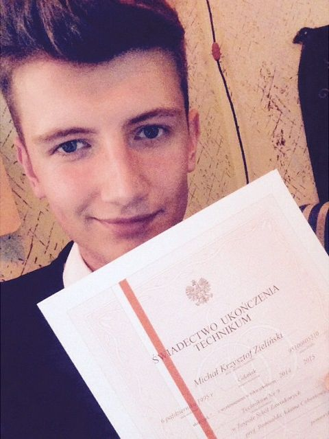 Michał Zieliński, zwycięzca drugiej edycji Project Runway, na Instagramie