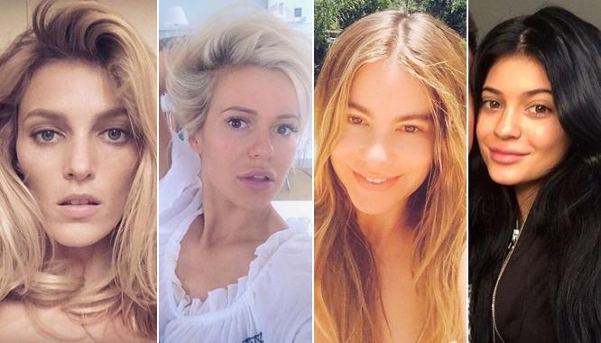 Gwiazdy, modelki i blogerki modowe bez makijażu