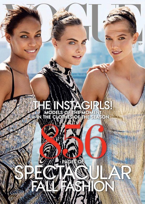 Amerykańskie okładki Vogue z 2013 i 2014 roku