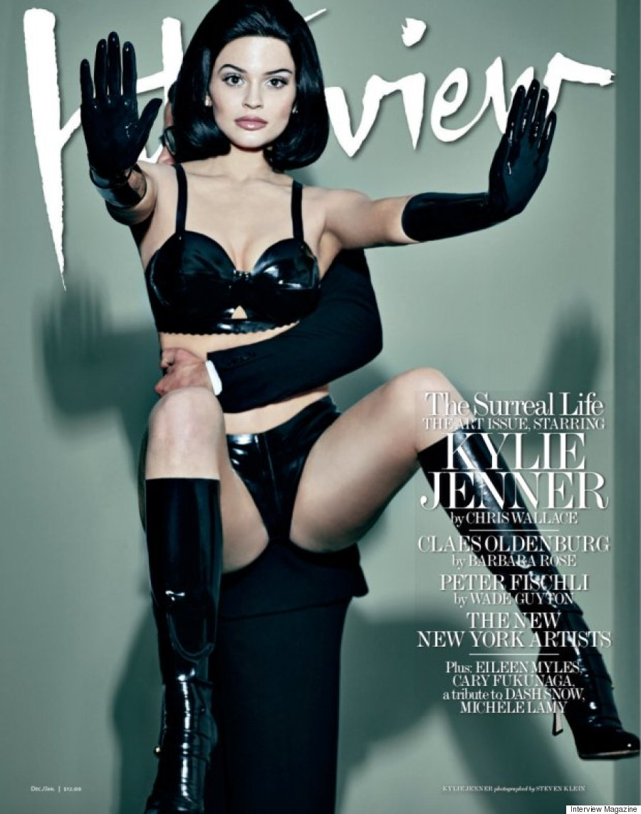Kylie Jenner na okładkach magazynów