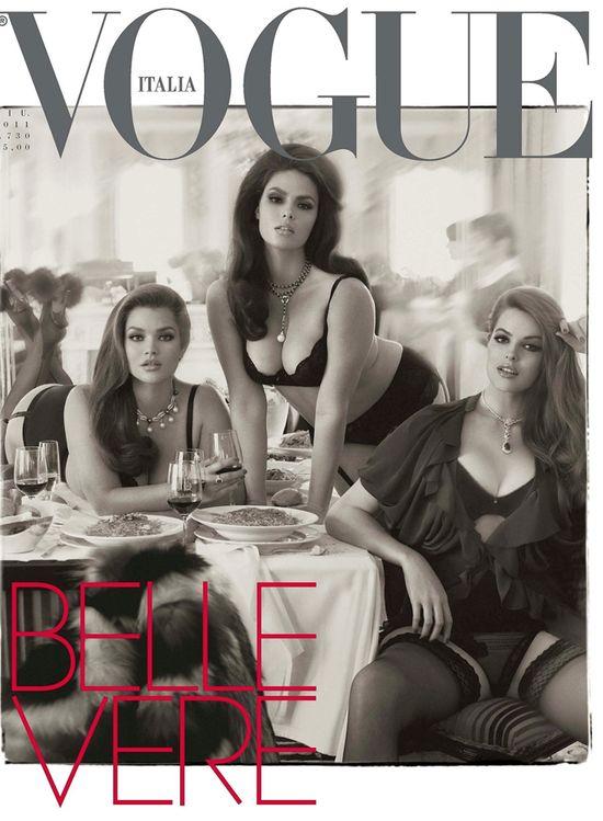 Piękne okładki Vogue Italia