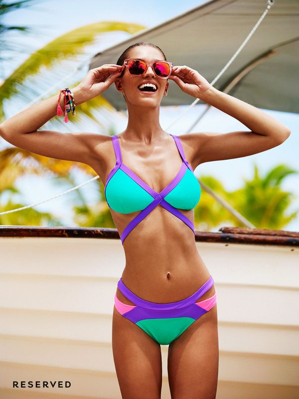 Kostiumy kąpielowe na lato 2016 od Reserved