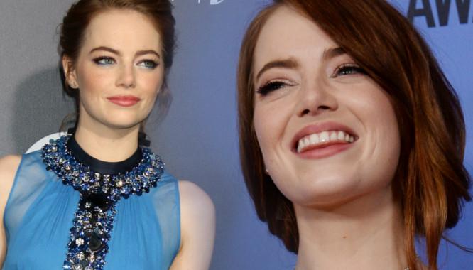 ILE?! Emma Stone po zakończeniu pracy nad La La Land trochę przytyła...
