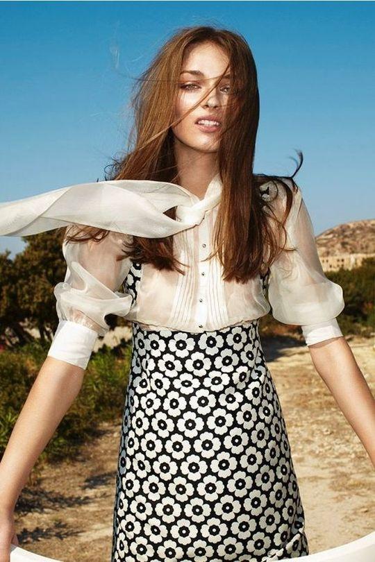 Daga Ziober w kampanii marki Simple (FOTO)