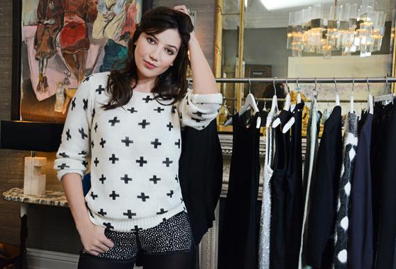 Daisy Lowe wybiera imprezowe zestawy z oferty H&M Holiday