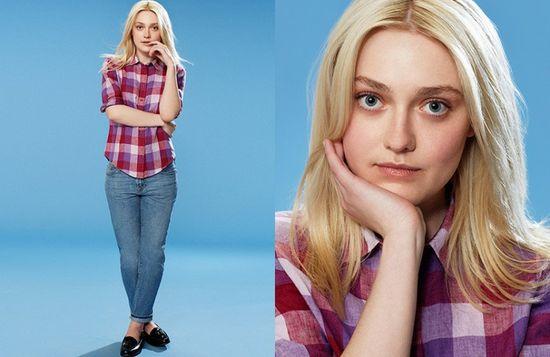 Dakota Fanning twarzą dwóch marek odzieżowych!
