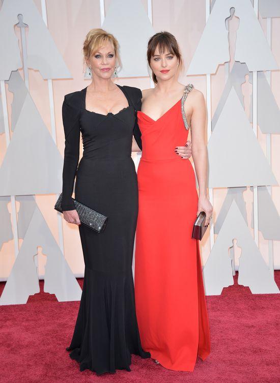 Dakota Jonhson na rozdaniu Oscarów 2015 (FOTO)